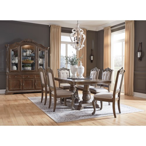 Signature Design by Ashley Charmond Formal Dining Room Group