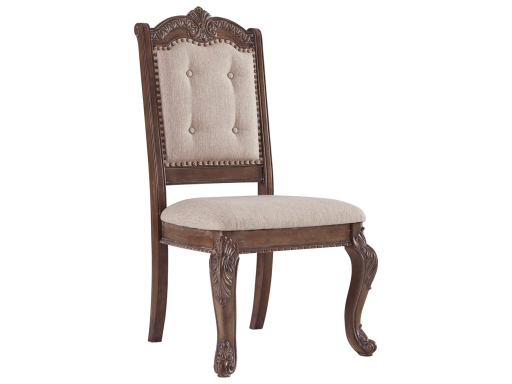 Signature Design by Ashley CharmondDining Upholstered Side Chair