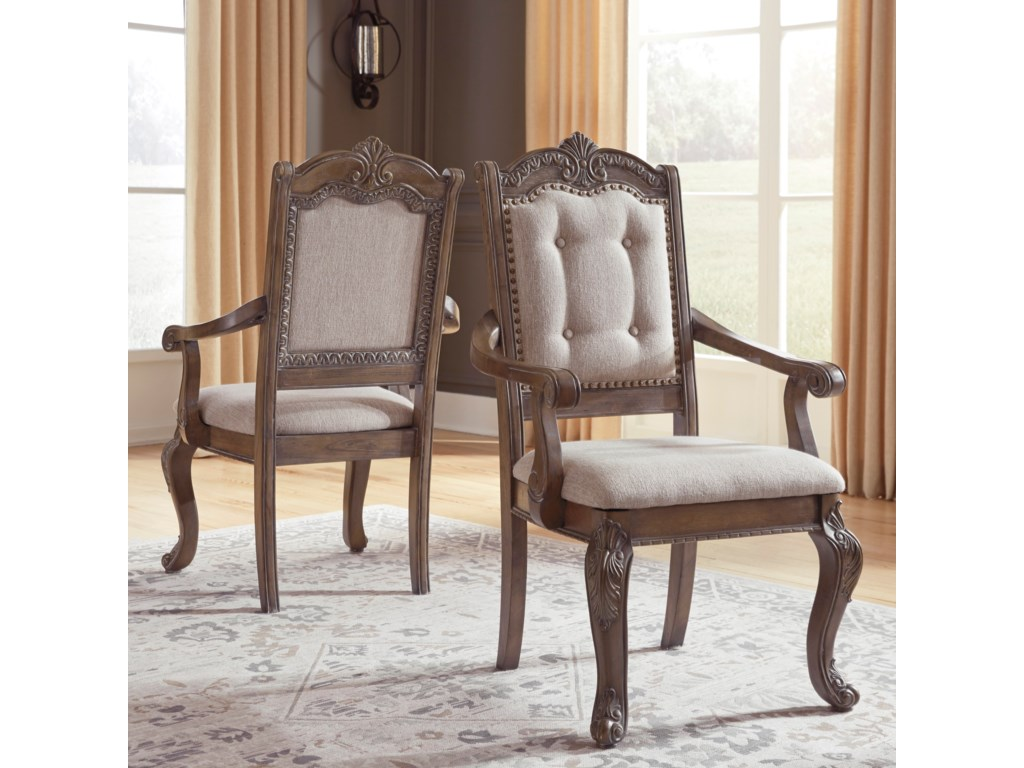 Signature Design by Ashley SerenaDining Upholstered Arm Chair