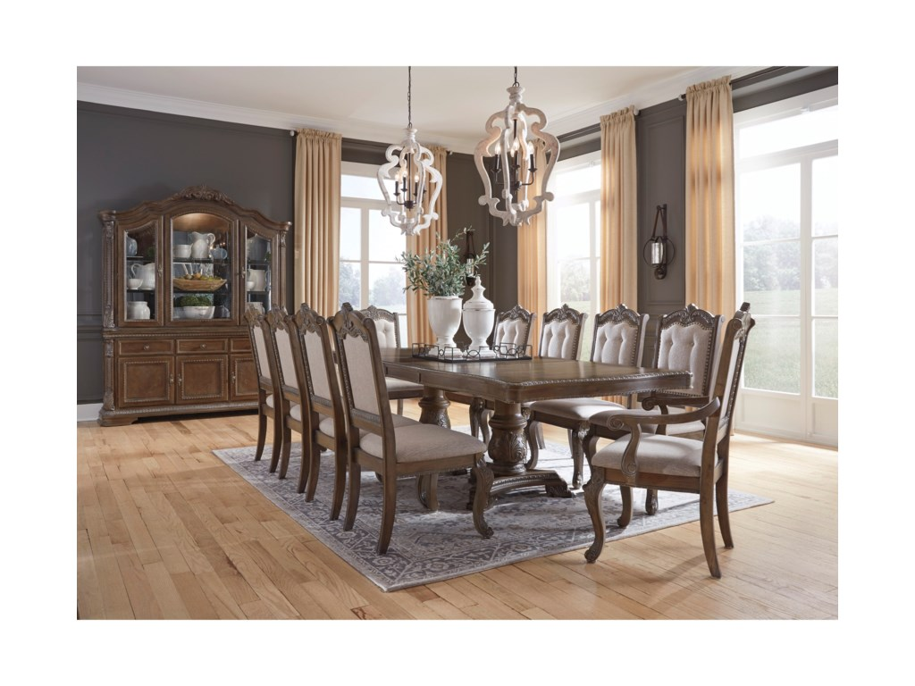 Charmond Rectangular Dining Room Extension Table