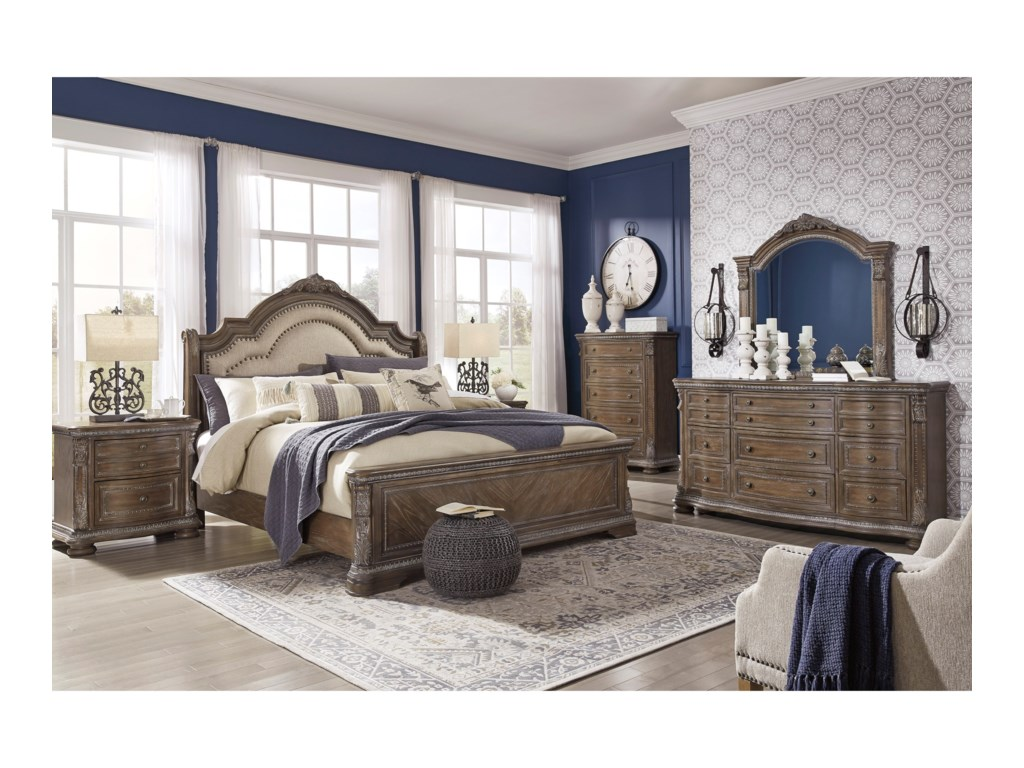 Signature Design by Ashley CharmondQueen Bedroom Group