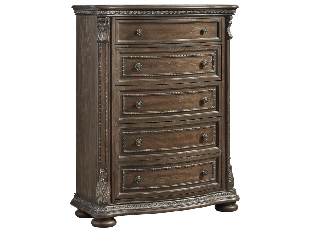 Ashley Signature Design CharmondFive Drawer Chest