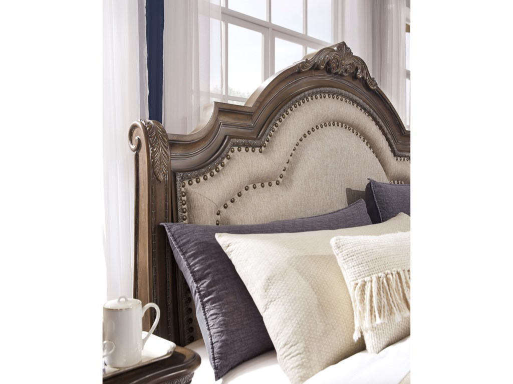 Signature Design by Ashley CharmondKing Upholstered Bed