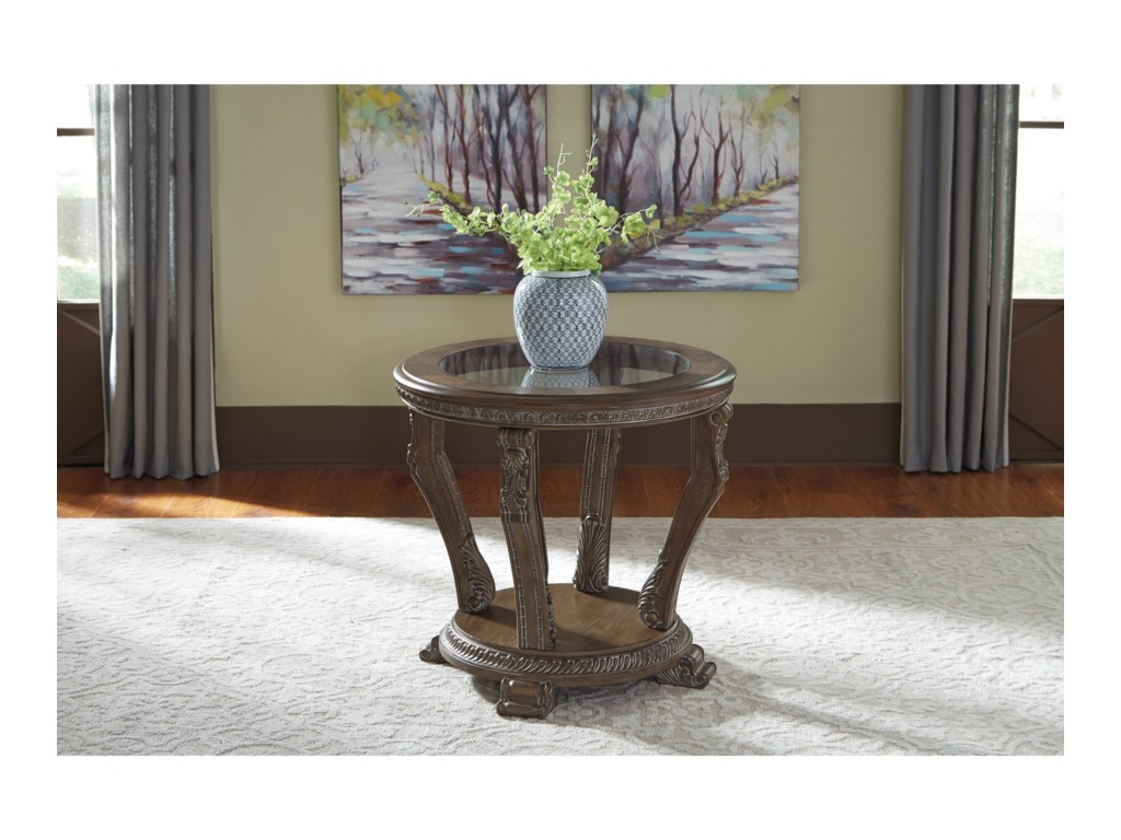Signature Design by Ashley CharmondRound End Table