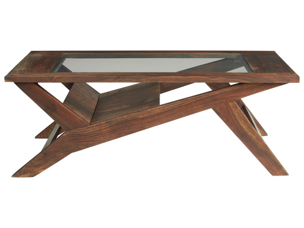 Signature Design by Ashley CharzineRectangular Cocktail Table