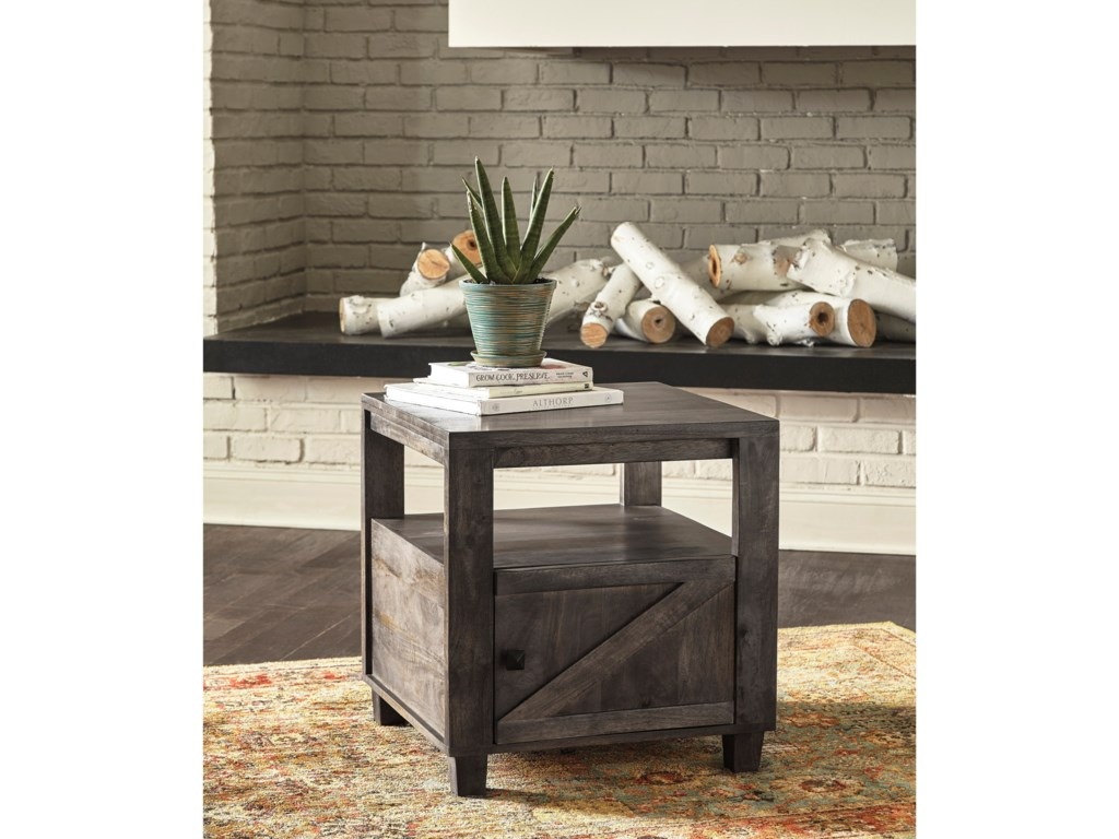 Signature Design by Ashley ChaseburgSquare End Table