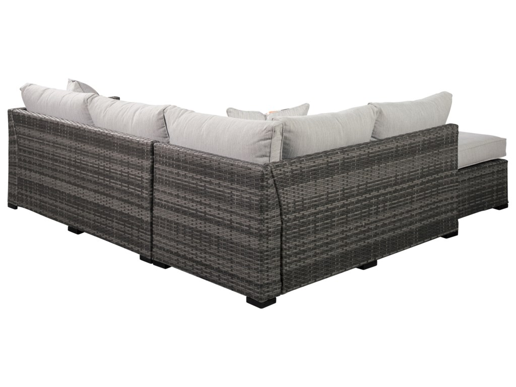 Signature Design by Ashley Cherry PointOutdoor Sectional Set
