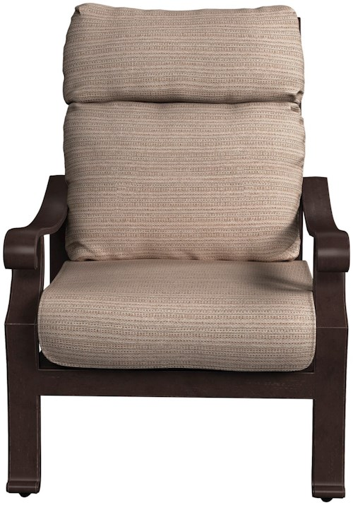 Signature Design by Ashley Chestnut Ridge High Back Lounge Chair with Cushion