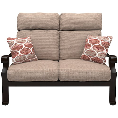 Signature Design by Ashley Chestnut Ridge High Back Loveseat with Cushion