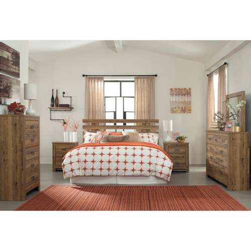 Signature Design by Ashley Cinrey King Bedroom Group