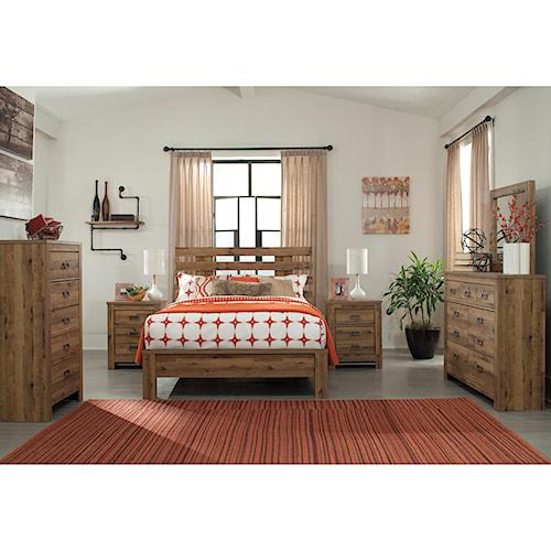 Signature Design by Ashley Cinrey Queen Bedroom Group