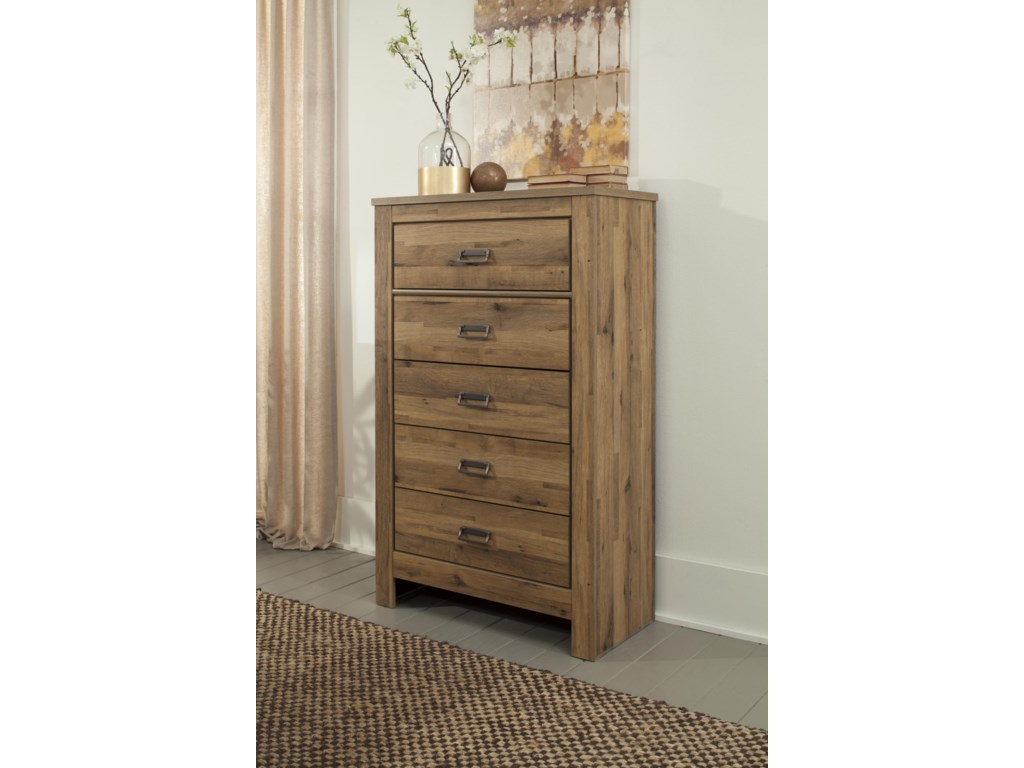 Signature Design by Ashley CinreyFive Drawer Chest