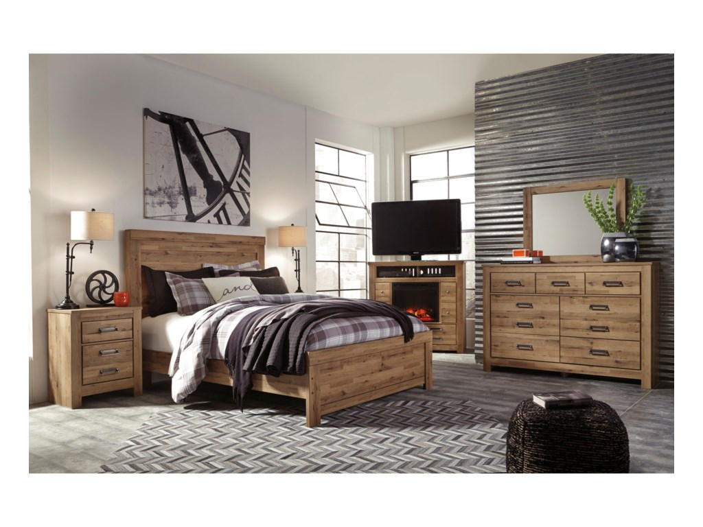 Signature Design by Ashley CinreyQueen Panel Bed