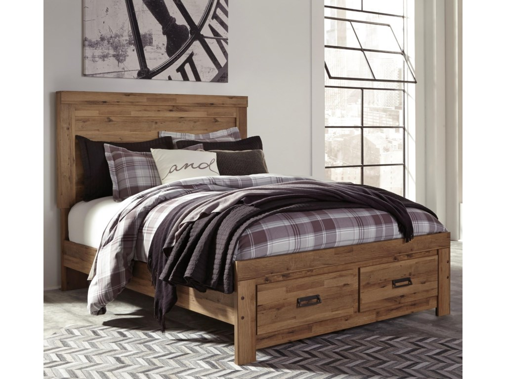 Signature Design by Ashley CinreyQueen Panel Storage Bed