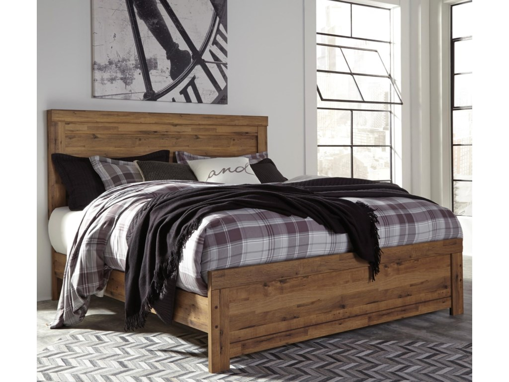 signature design by ashley cinreyking panel bed - King Panel Bed