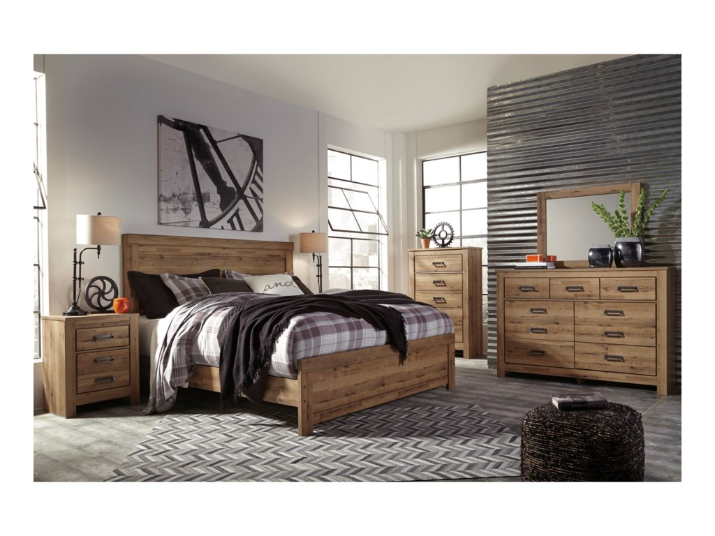 Signature Design by Ashley CinreyKing Panel Bed