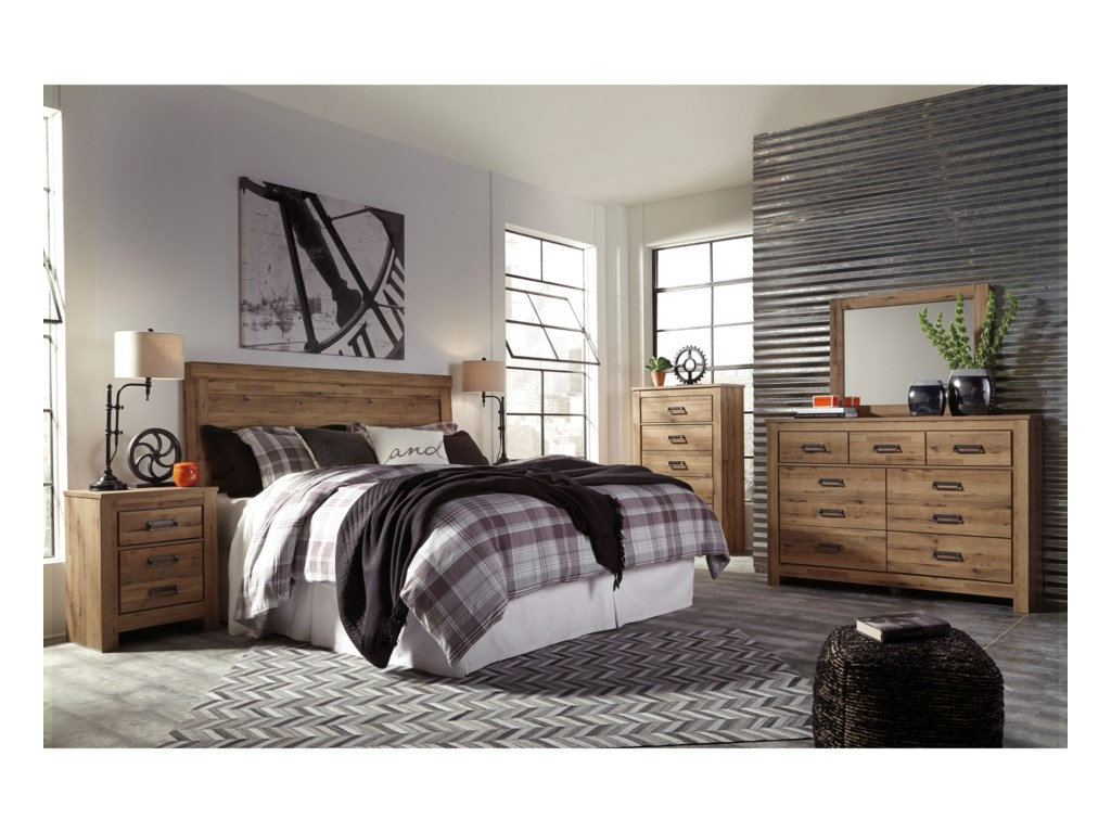Signature Design by Ashley CinreyKing/Cal King Panel Headboard