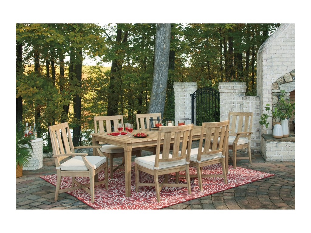 Benchcraft Clare View7 Piece Outdoor Dining Set