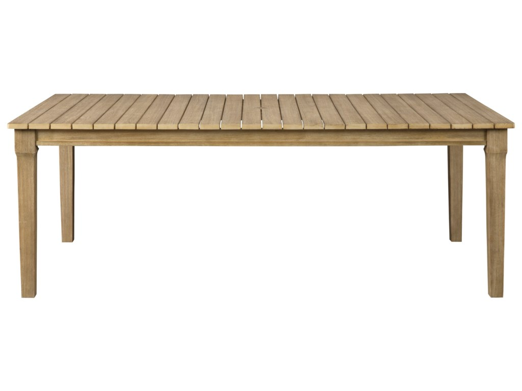 Signature Design by Ashley AntiguaRectangular Dining Table w/ Umbrella Option