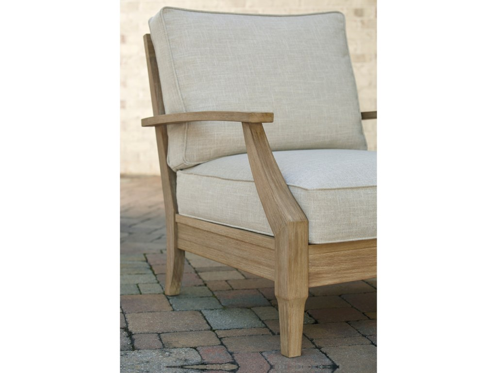 Signature Design by Ashley Clare ViewLounge Chair with Cushion