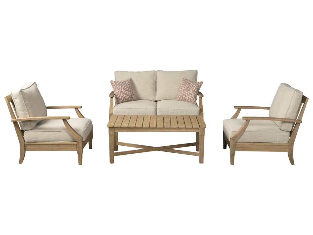 Signature Design by Ashley Clare ViewOutdoor Conversation Set