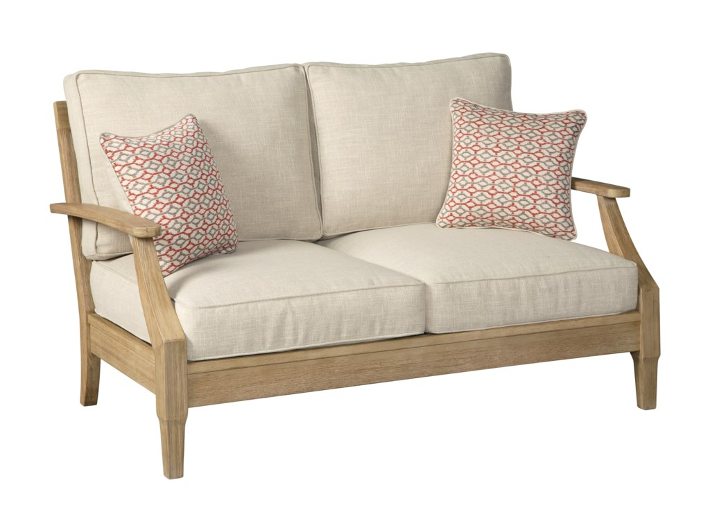 Signature Design by Ashley Clare ViewLoveseat w/ Cushion