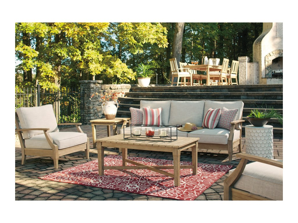 Signature Design By Ashley Clare View Outdoor Conversation Set
