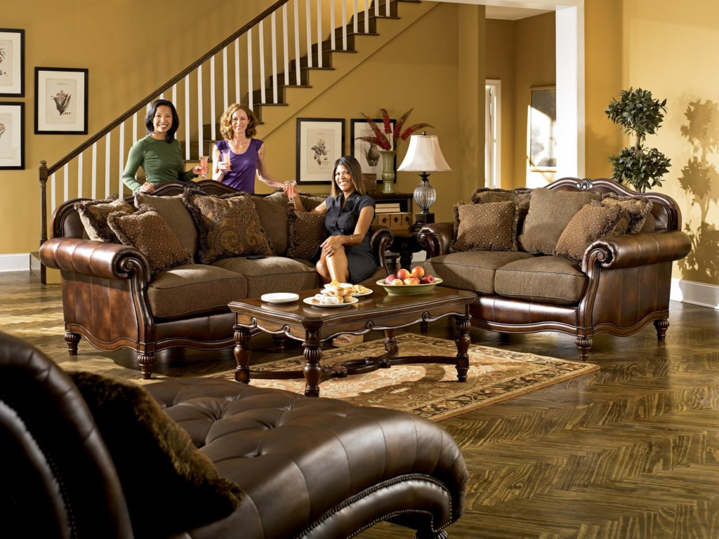 Shown with Sofa and Chaise