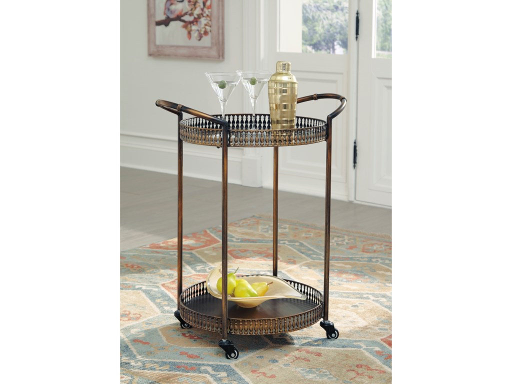 Signature Design by Ashley ClarkburnBar Cart