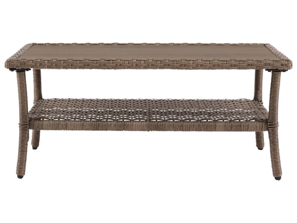 Signature Design by Ashley Clear RidgeRectangular Cocktail Table