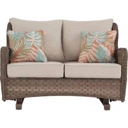 Loveseat Glider w/ Cushion
