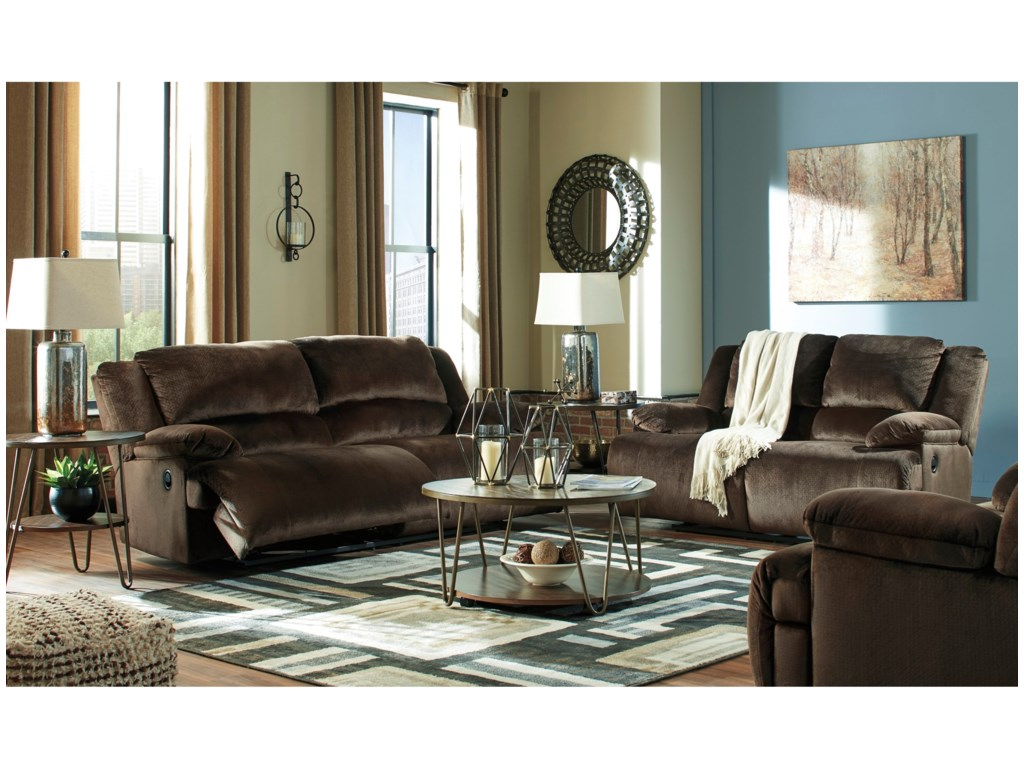 Signature Design by Ashley ClonmelReclining Living Room Group