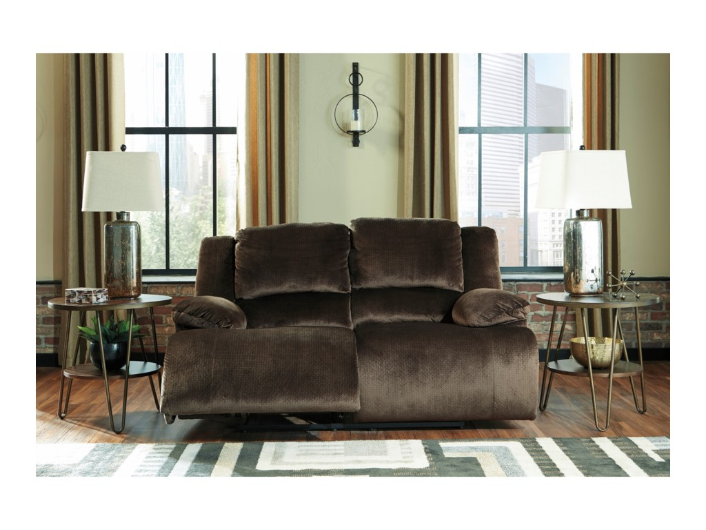 Signature Design by Ashley ClonmelReclining Loveseat