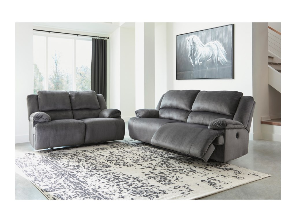 Signature Design by Ashley ClonmelPower Reclining Living Room Group