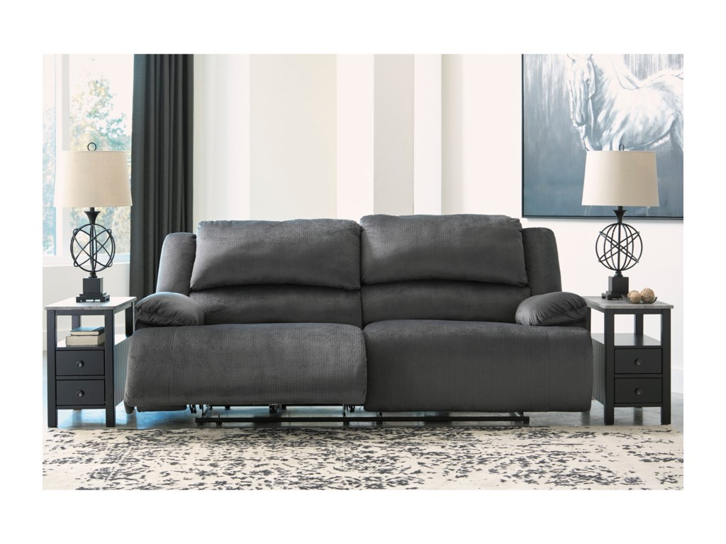 Signature Design by Ashley Clonmel2 Seat Reclining Power Sofa