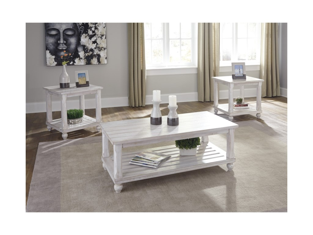 Signature Design by Ashley Cloudhurst3 Piece Occasional Table Set