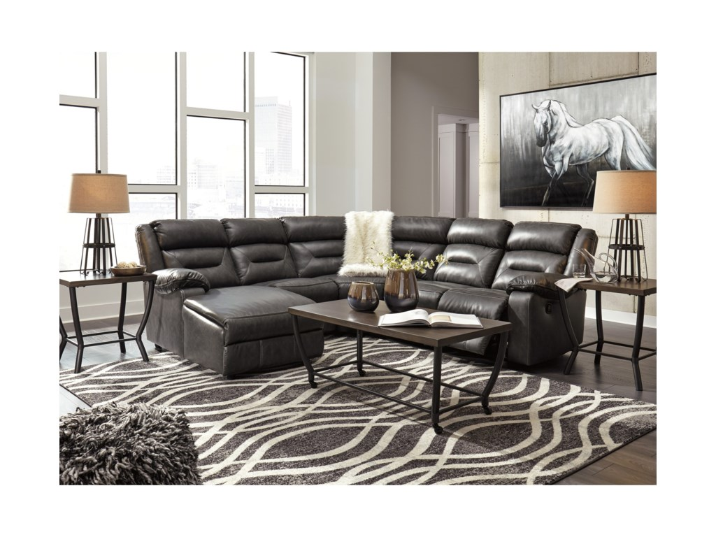 Signature Design by Ashley Coahoma5 Piece Sectional