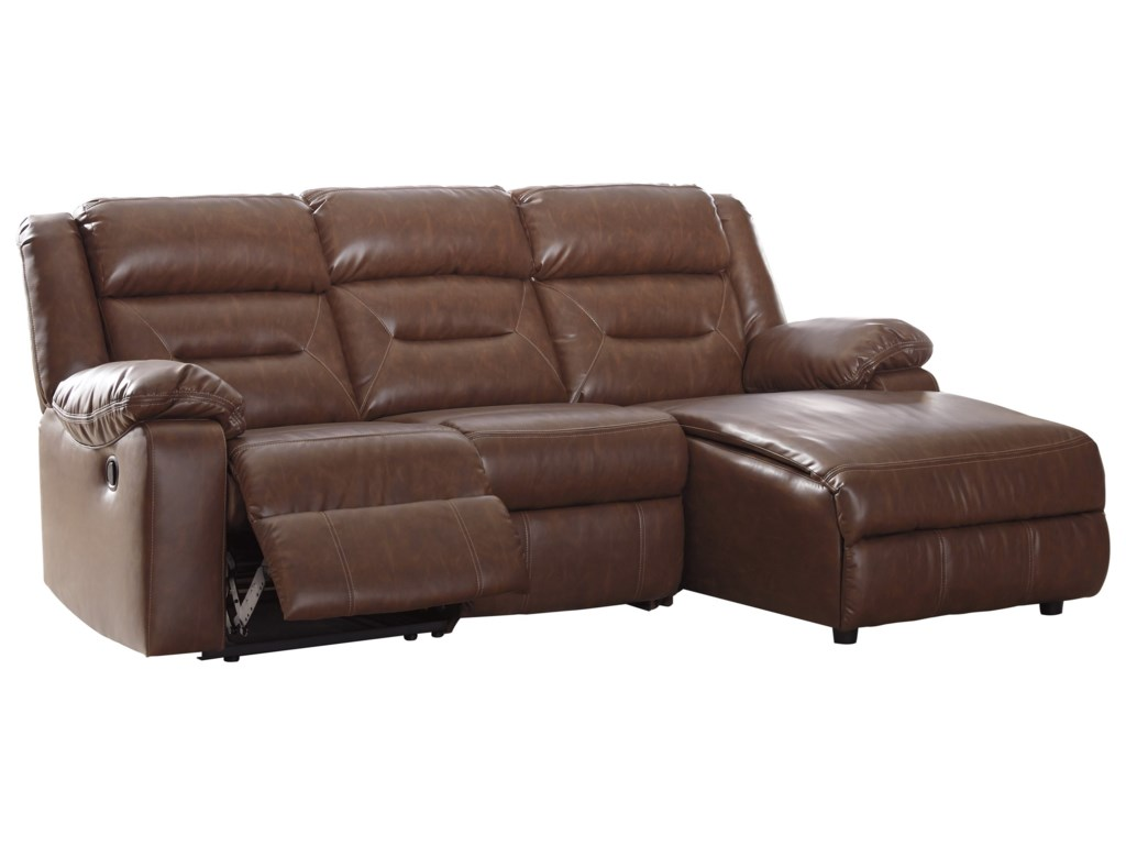 Coahoma 3-Piece Sectional Sofa with Chaise by Signature Design by Ashley at  Prime Brothers Furniture