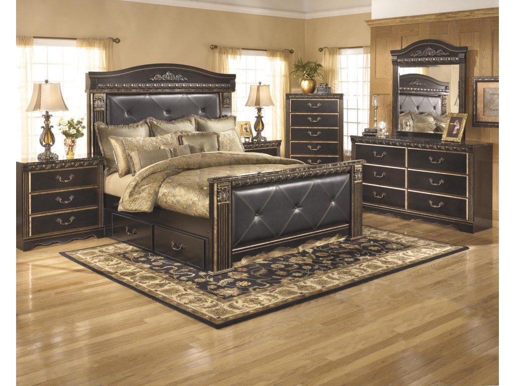 Ashley (Signature Design) Coal CreekKing Bedroom Group