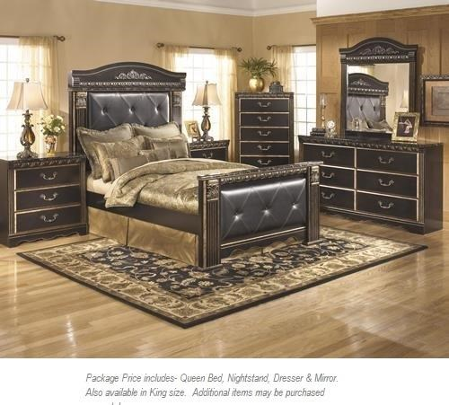 Signature Design By Ashley Coal Creek 4PC Queen Bedroom