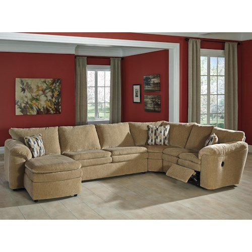 Signature design by ashley coats casual contemporary 4 for 4 piece living room furniture