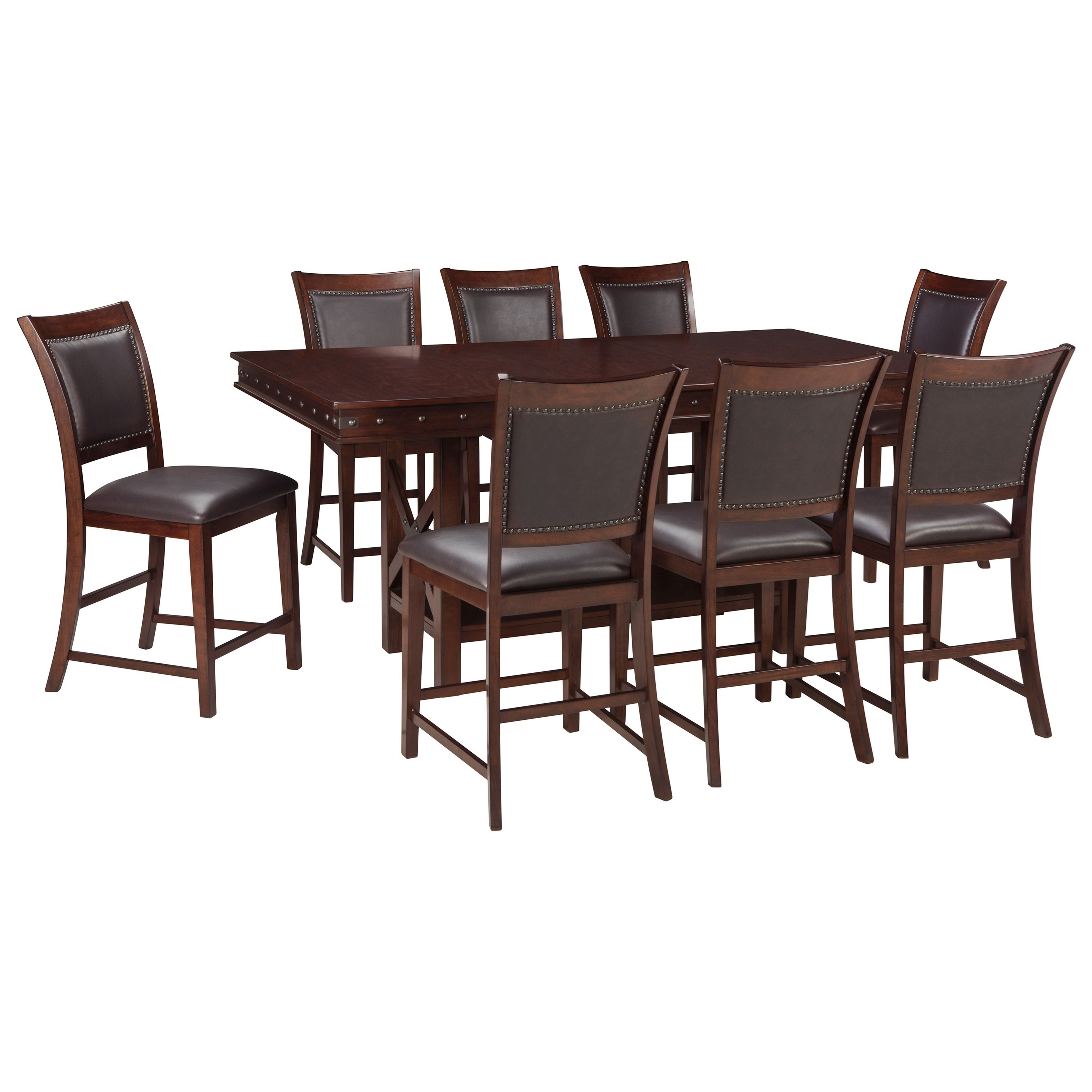 Signature Design By Ashley Collenburg9 Piece Counter Table Set ...