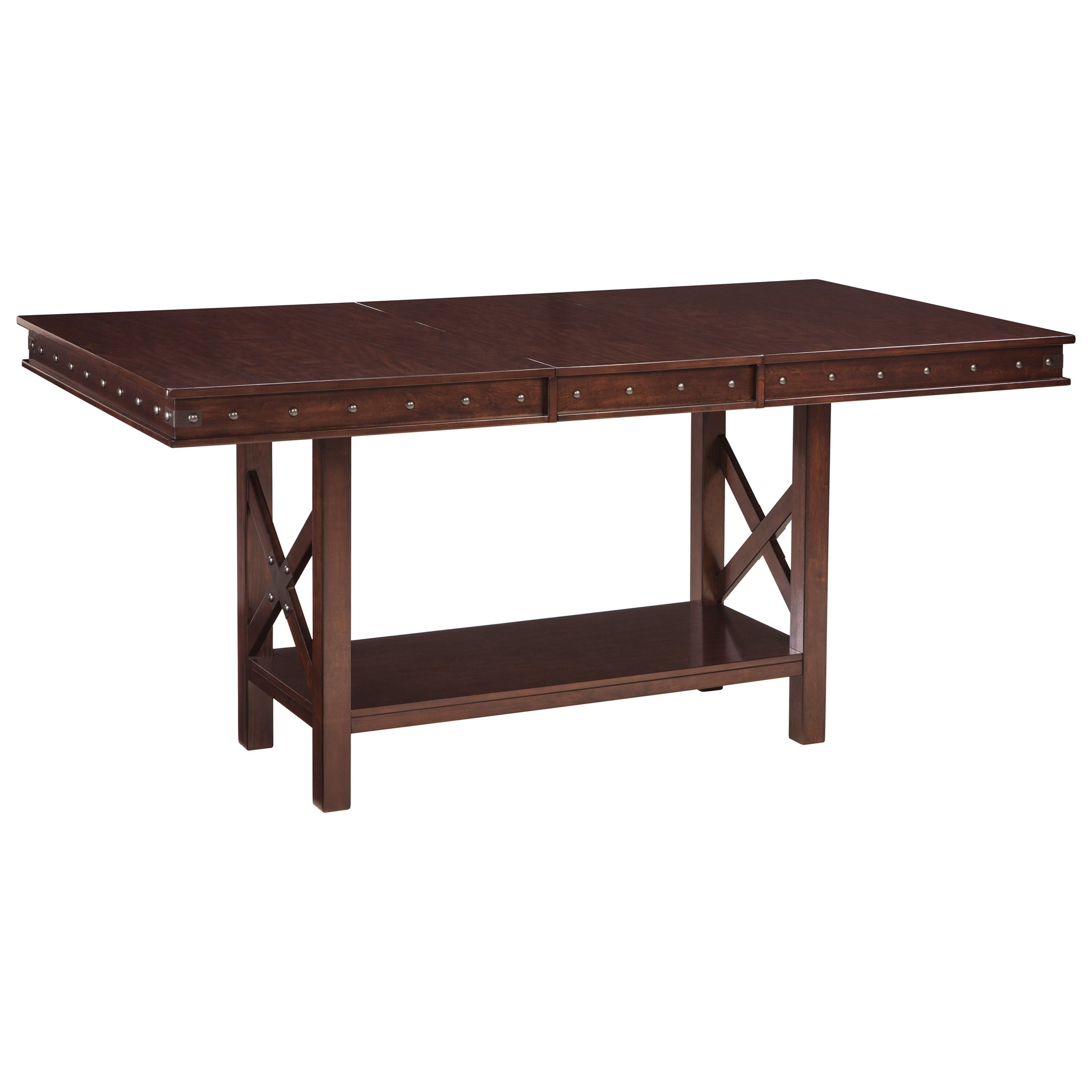 Ordinaire Signature Design By Ashley CollenburgRectangular Dining Counter Extension  Table ...