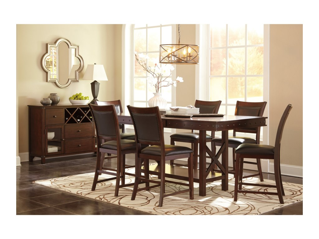 Signature Design by Ashley CollenburgRectangular Dining Counter Extension Table