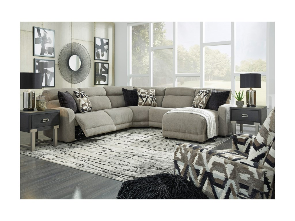 Signature Design by Ashley ColleyvillePower Reclining Living Room Group