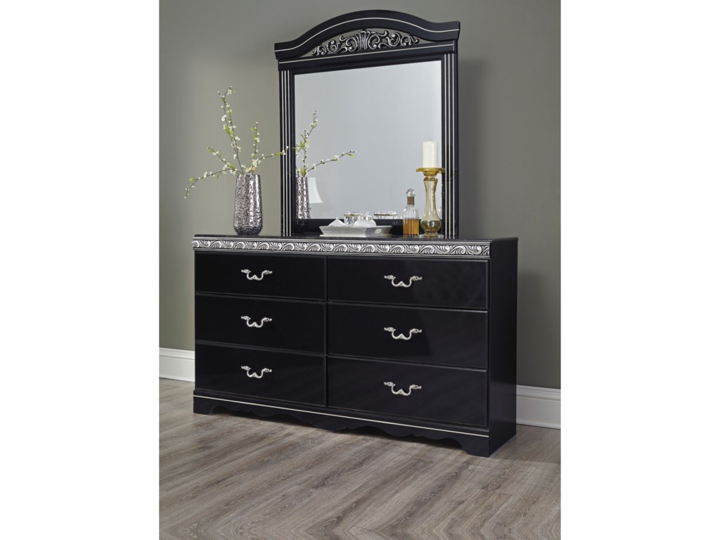 Signature Design by Ashley ConstellationsDresser & Mirror Combo