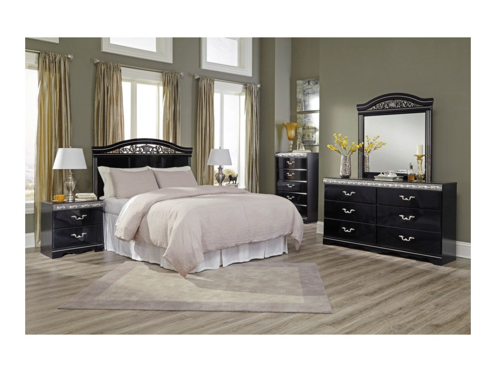 Signature Design by Ashley ConstellationsFull/Queen Panel Headboard