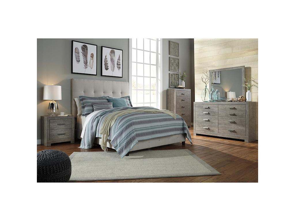 Ashley (Signature Design) DolanteKing Upholstered Bed