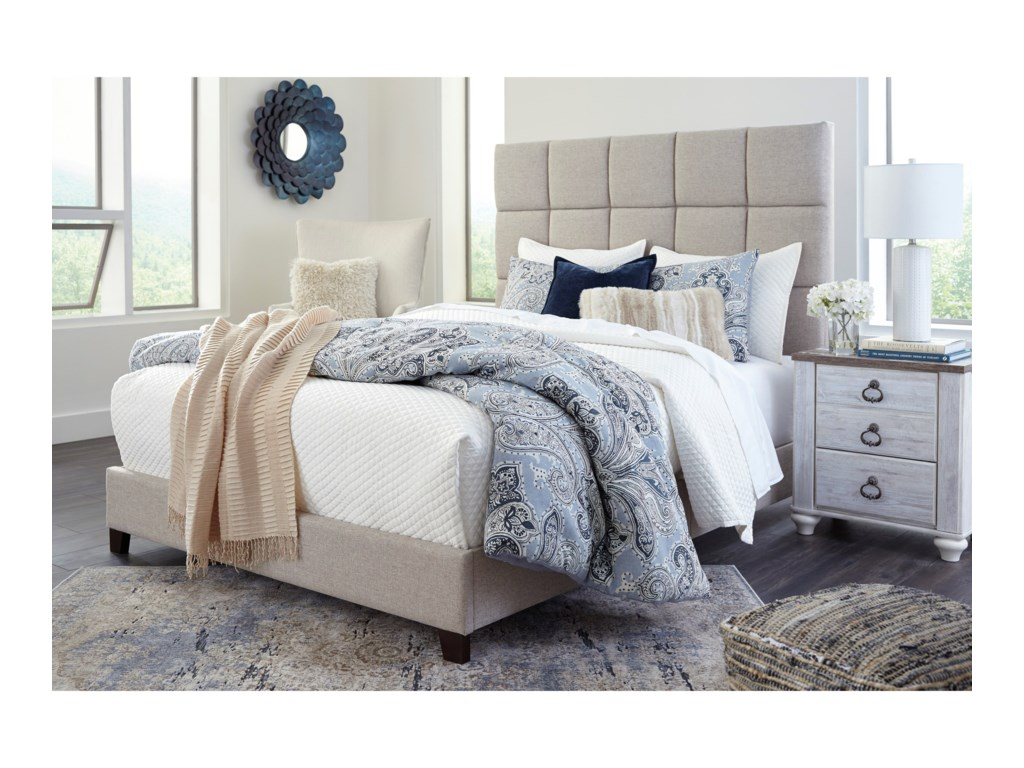 Signature Design by Ashley DolanteKing Upholstered Bed