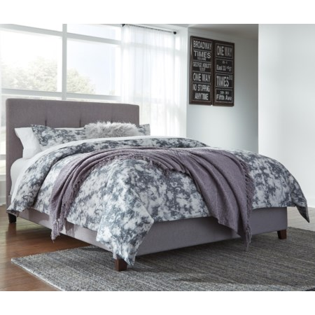 Jenna Queen Upholstered Bed